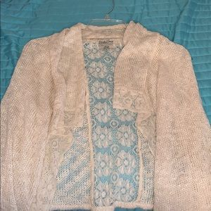 Big Girls Lucky Brand Cardigan